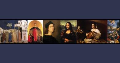 Paolo Conti, Viaggio nella pittura italiana dal '300 al '600