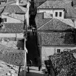 vista sui tetti dalla torre campanaria